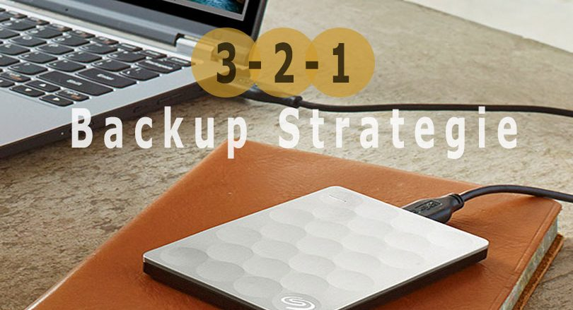 3-2-1 Backup strategie