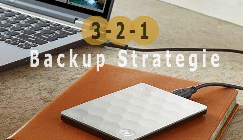 3-2-1 Backup strategie