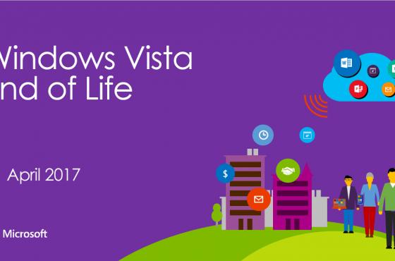 Windows Vista op pensioen