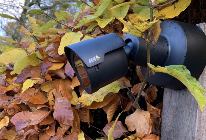 Axis camera geïnstalleerd door Track42